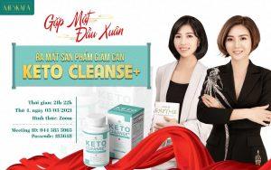 Chương trình ra mắt sản phẩm giảm cân keto cleanse